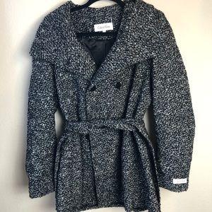 Calvin Klein Wool Blend Coat